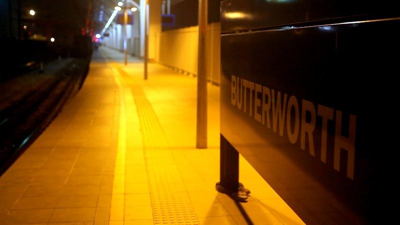 Butterworth Railway Station (